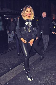 Ciara! I want her hairrr! Naahhh rather have her kicks