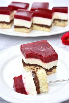 Polish Cake Recipe, Food Cakes, Nutella, Tiramisu, Cake Recipes, Food Ideas, Cooking Recipes, Ethnic Recipes, Fit