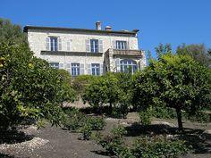 Renoir's House, Cagnes-Sur-Mer by campdavemorecambe, via Flickr
