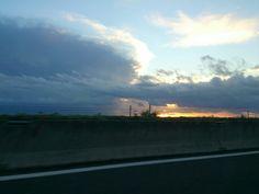 Sunrise on the Adriatico see