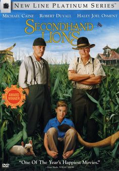 Secondhand Lions (2003)  - Click Photo to Watch Full Movie Free Online.
