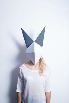 Origami Mask (by Luca Garello) Mehr