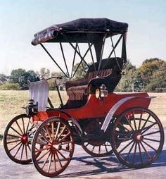 1900 St. Louis Gasoline Buggy St. Louis Gasoline Motor Company 1897-1900