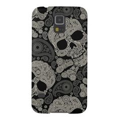 Sugar Skull Pattern Samsung Galaxy S5 Case