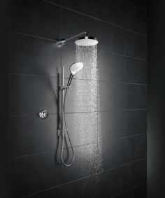 Introducing the new Mira Mode digital shower, designed with you in mind. Dream Bathrooms, Beautiful Bathrooms, Small Bathroom, Digital Showers, Bathroom Trends, Bathroom Toilets, Wet Rooms, Monochrome, My New Room