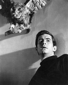 Anthony Perkins (April 4, 1932 – September 12, 1992) in Psycho, 1960