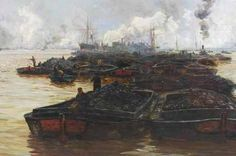 W L Wyllie's painting The Hidden Lives of the Coal Traders