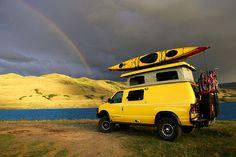 go wherever, do whatever. sportsmobile rv