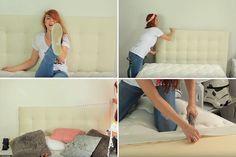 DIY: 5 cabeceiras para cama que você mesma pode fazer - Casinha Arrumada