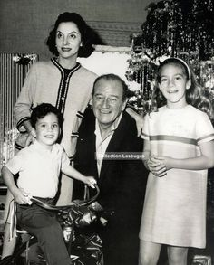 Family  of John Wayne