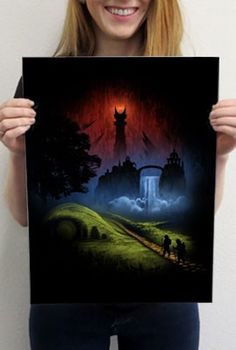 Over the Hill - Pop Art Prints | TeeFury