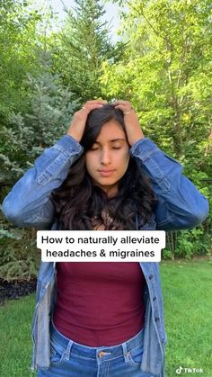 Headache Cure, Migraine Relief, Headache Remedies, Natural Headache Relief, Massage Tips, Massage Therapy, Health And Fitness Tips, Health Advice, Stress Relief Exercises
