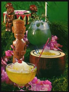 A classic collection of Polynesian drinks.