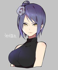 Anime Naruto, Thicc Anime, Chica Anime Manga, Naruto Shippuden Anime, Naruto Art, Boruto, Kid Naruto, Naruto Girls, Sasuke