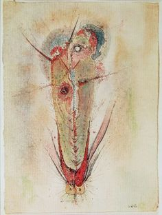 Don Juan by (Wols) Wolfgang Schulze Tachisme, Art Informel, Georges Pompidou, Spanish Painters, Don Juan, Portraits, Art Moderne, Affordable Art, Online Art