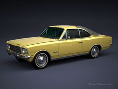 A Garagem Digital de Dan Palatnik | The Digital Garage Project: 1978 Chevrolet Opala