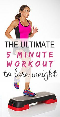 This simple, 5-minute High Intensity Interval Training (HIIT) workout consists of 10 moves that'll get your heart rate up, torch calories, and give your metabolism the jumpstart it needs to shed that weight. The best part? It requires absolutely no equipment. #HIITworkouts #everydayhealth | everydayhealth.com