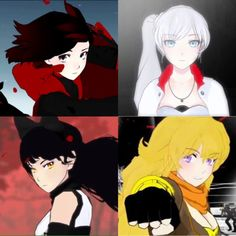 Red Like Roses, Rwby Characters, Achievement Hunter, Team Rwby, Red Vs Blue, Rooster Teeth, Manga Games, I Love Anime, Happy Moments