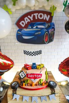 Cars Themed Cake fro