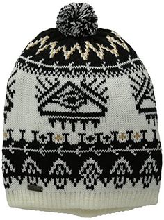 33ca0ffc67f Burton Womens Equinox Beanie True BlackStout White One Size     Be sure to  check