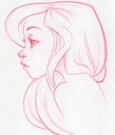 Face Profile Drawing, Side Face Drawing, Female Face Drawing, Drawing Faces, Faces To Draw, Girl Eyes Drawing, Woman Drawing, Cool Art Drawings, Art Drawings Sketches