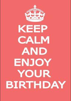 Male keep calm birthday card - Folksy