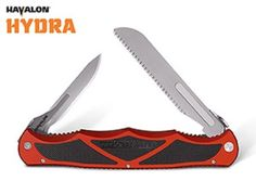 Havalon Hydra Skinning Fillet Knife Bone Saw RED Piranta Kit Baracuta Blades #Havalon