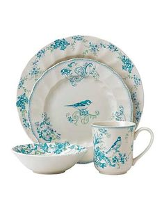 Wedgwood Johnson Brothers Vintage Charm 4 Piece Place Setting