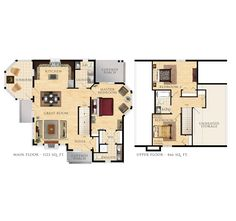 Beaver Homes and Cottages - Caldwell Cove Beaver Homes And Cottages, Large House Plans, Large Homes, Tiny Homes, Sims House, Home Hardware, Plan Design, Great Rooms, Floor Plans