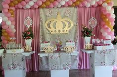 festa provençal - Pesquisa Google Quinceanera Decorations, Girl Shower, Princess Party, Table Decorations, Candy Bars, Shower Ideas, Party Ideas, Baby, Globe Decor