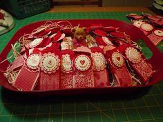 Nanny's Pansy Patch: Valentine Treat Holders