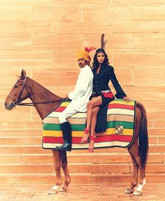 www.pegasebuzz.com   The Fashion Horse : Daren Centofanti for L'Officiel India