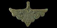 Viking Bird in Flight Pendant