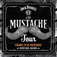 Jack Daniel's Mustache Tour @ Seven Seas Bar, Aguada #sondeaquipr #jdmoustachetour #sevenseasbar #aguada