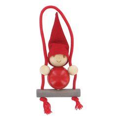 Wooden Christmas decorations Manufacturer Finnish Aarikka A new t . Days To Christmas, Nordic Christmas, Christmas Makes, Little Christmas, Wooden Christmas Decorations, Christmas Ornament Crafts, Marimekko, Crafts Beautiful, Diy Weihnachten