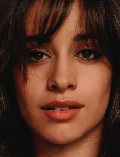 Daily Camila Cabell o Fangirl, Singer One, Brunette Makeup, Celebrity Faces, School Girl Outfit, Face Photo, Fifth Harmony, Belleza Natural, Havana