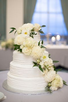 Louis-based florist for weddings, corporate, special and nonprofit events on Sisters Floral Design Studio… All White, Wedding Cakes, Wedding Flowers, Floral Design, Sisters, Anniversary, Ivory, Table Decorations, Studio