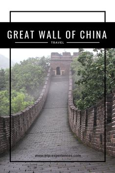 The Great Wall of China is a series of fortifications built across the historical northern borders of China to protect the Chinese states and empires. Eurasian Steppe, Great Wall Of China, Fortification, China Travel, The Expanse, Railroad Tracks, Brick, Empire, Chinese