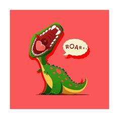 Vector illustration of dinosaur is roaring. EPS 10 file Vector illustration of dinosaur is roaring vector art illustration Vector illustration of dinosaur is roaring. EPS 10 file Vector illustration of dinosaur is roaring vector art illustration Cartoon Dinosaur, Dinosaur Art, Cute Dinosaur, T Rex Cartoon, Free Vector Graphics, Free Vector Art, Dragons, Tattoo Sticker, The Good Dinosaur