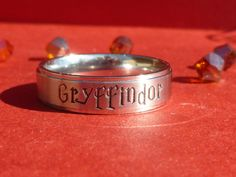Potter Inspired House Ring / Dormitory Ring / by GoodMommyLtd