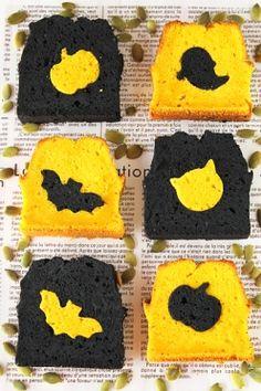 「かぼちゃとココアのハロウィンパウンドケーキ」ぱお | お菓子・パンのレシピや作り方【corecle*コレクル】