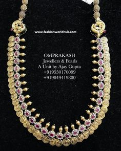 Kasulaperu Long chain collections from Om prakash Jewellers Gold Jewelry, Gold Necklaces, Jewellery, Gold Set, Indian Jewelry, Jewels, Engagement, Bracelets, Chains