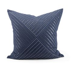 Monterrey Pillow - Indigo Seas
