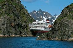 Hurtigruten Voyage Travels From Bergen To Greenwich