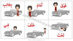 Arabic Prepositions (video and image)