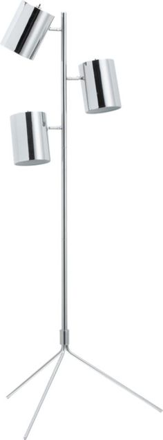 """tripel floor lamp  