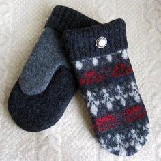Crochet Felted Handbags