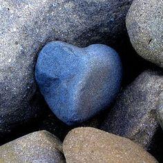 "Such a ""blue"" heart."