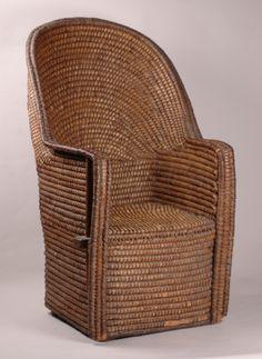 Welsh Lip Work Chair, Mid C19th