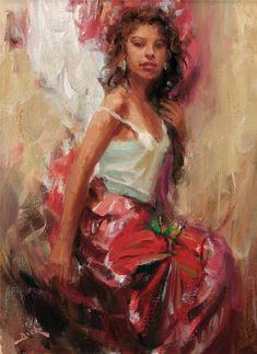 Tutt'Art@ | Pittura * Scultura * Poesia * Musica |: Dan Beck ~ The Impressionist Lady